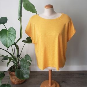 GAP | Yellow Oversize XL Summer Casual Top
